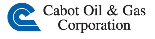 Cabot Oil and Gas Logo
